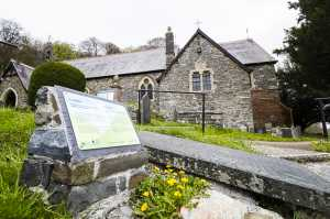 Llandre Church, by Phil Jones (c) Phil Jones