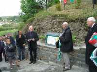 Launch of the Poetry Path, with the Archdruid of Wales (c) Treftadaeth Llandre Heritage